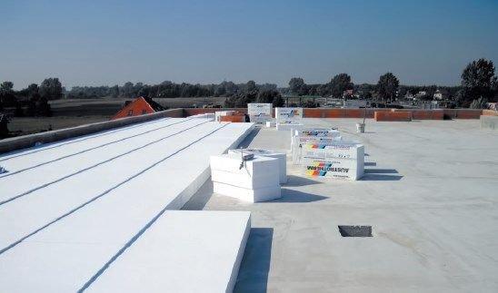 Austrotherm DPS - termoizolacja dachów płaskich wraz ze spadkiem