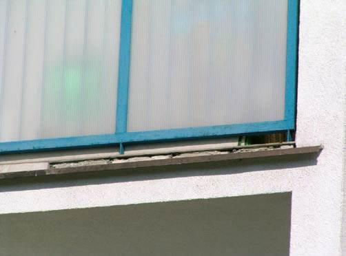Trwałość balkonów i loggii - błędy projektowe i wykonawcze