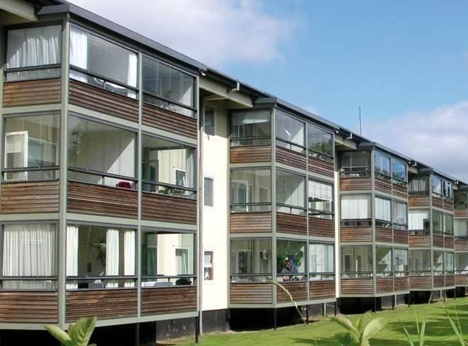 Balkony oszklone jako systemy szklarniowe