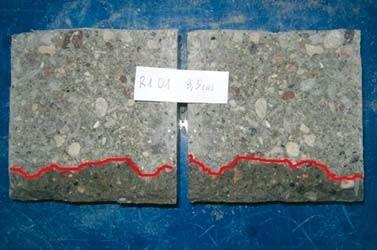 Ocena skuteczności hydrofobizacji powierzchniowej betonu