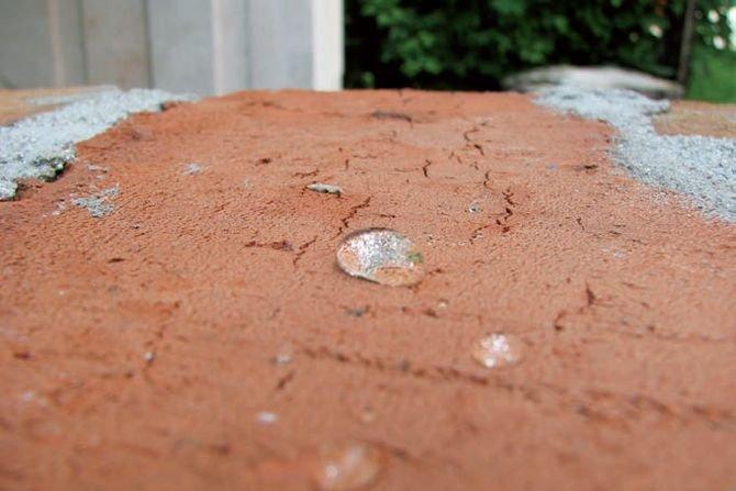 Impregnaty w pracach remontowo-naprawczych - hydrofobizacja