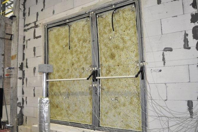 Izolacyjność ogniowa drzwi przeciwpożarowych