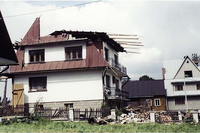 Obciążenia dachu wiatrem w praktyce