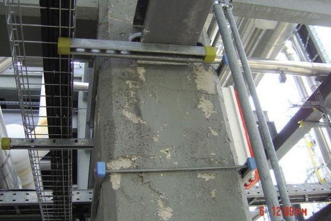 Ocena trwałości i skuteczności ogniochronnej nieznanych pasywnych zabezpieczeń ogniochronnych konstrukcji stalowych po upływie czasu