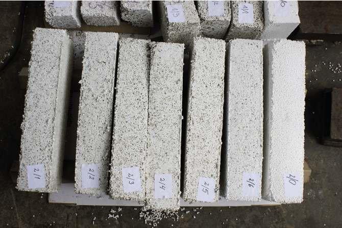 Opracowanie technologii wytwarzania hybrydowego materiału termoizolacyjnego będącego kompozytem styropianu i włókien pochodzących z recyklingu