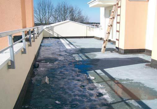 Taras na dachu - uwagi podstawowe