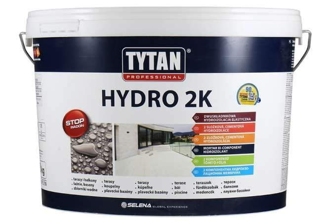 Idealna hydroizolacja tarasu i balkonu - Tytan Hydro 2K