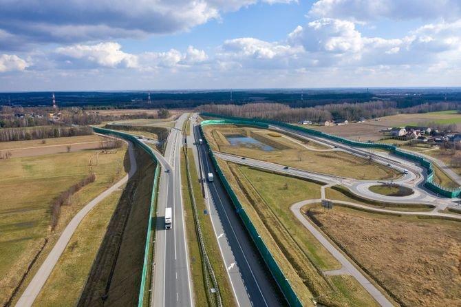 Rozwój sieci drogowej w liczbach