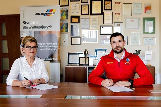 Austrotherm wspiera Grupę Jurajską GOPR