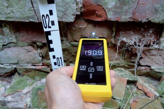 Badanie wilgotności mineralnych materiałów budowlanych