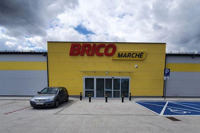 Nowy supermarket Bricomarché w Środzie Śląskiej