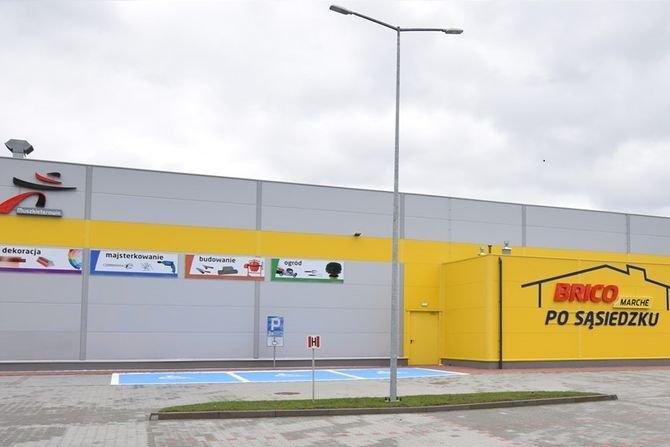 Drugi supermarket Bricomarché w Bytomiu