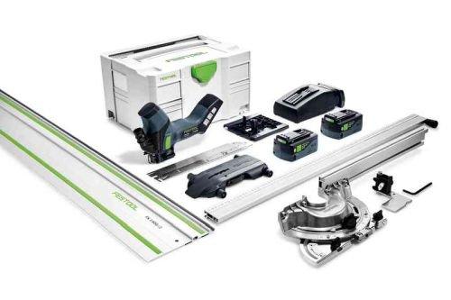 Akumulatorowa pilarka do materiałów izolacyjnych ISC 240 Li 5,2 EBI-Set-FS
