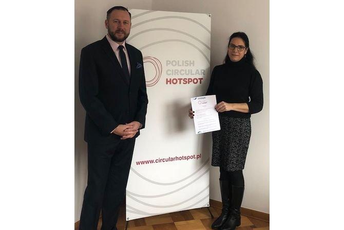 ICiMB członkiem Polish Circular Hotspot