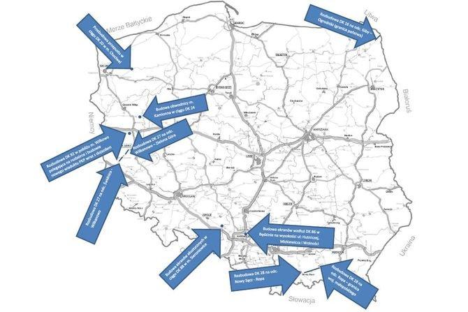 582 mln zł na modernizację dróg krajowych
