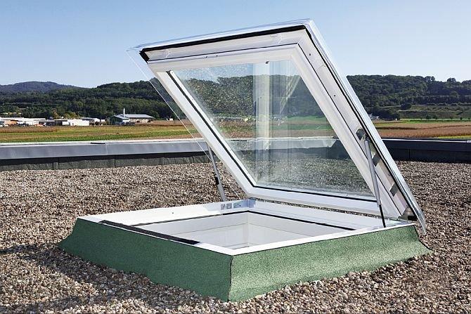 Okna do dachów płaskich