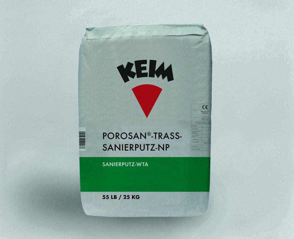 Tynk renowacyjny KEIM POROSAN® TRASS-SANIERPUTZ-NP