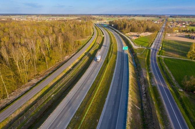 Nowe inwestycje drogowe wyprowadzają ruch z miast
