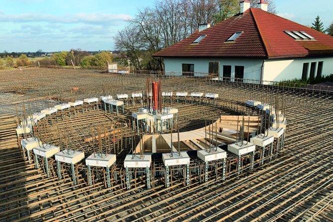 Obserwatorium astronomiczne w Niepołomicach z użyciem produktów Schöck