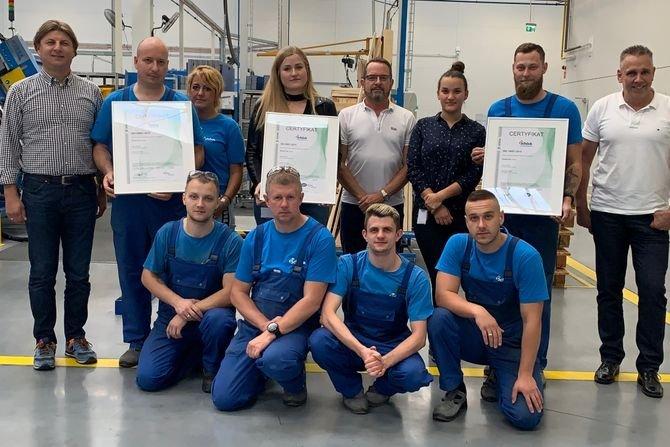 Zakład produkcyjny Schöck w Tychach z certyfikatami ISO