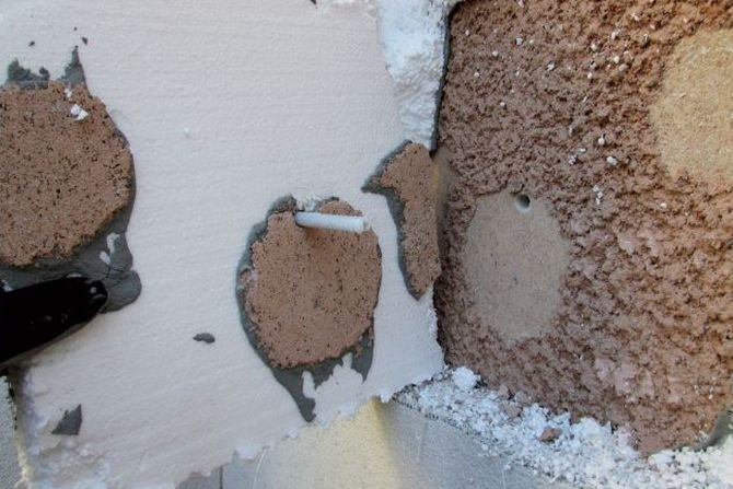 Sposoby mocowania ociepleń do powierzchni ścian według technologii ETICS