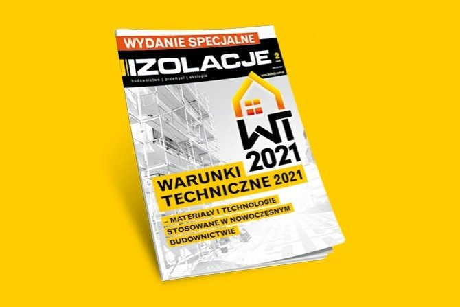 Warunki Techniczne 2021 – materiały i technologie stosowane w nowoczesnym budownictwie