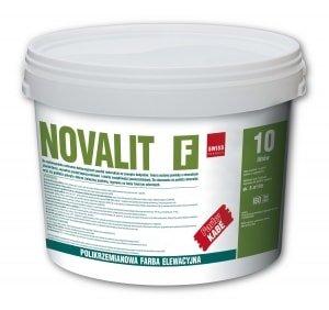 Polikrzemianowa farba elewacyjna Novalit F