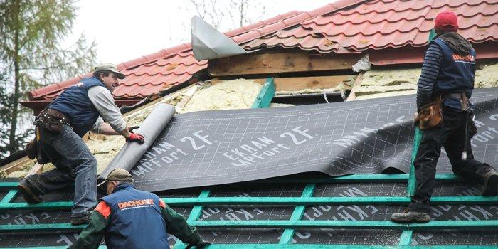 Modernizacja dachów pochyłych