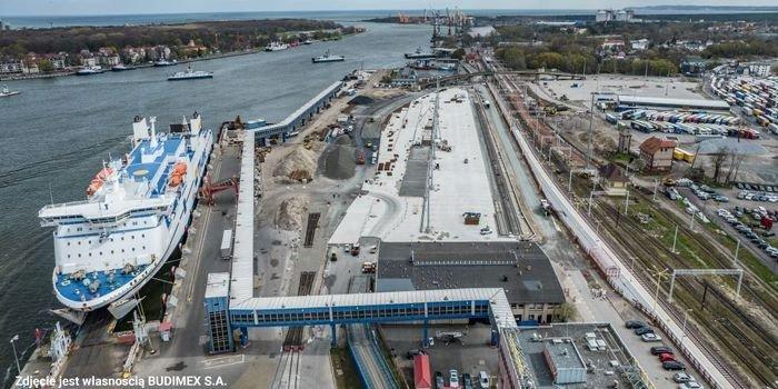 Beton CEMEX do modernizacji terminala w Świnoujściu