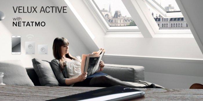 VELUX i Netatmo stworzą rozwiązania do inteligentnych domów