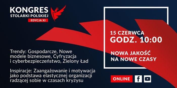 Nowy termin XI Kongresu Stolarki Polskiej