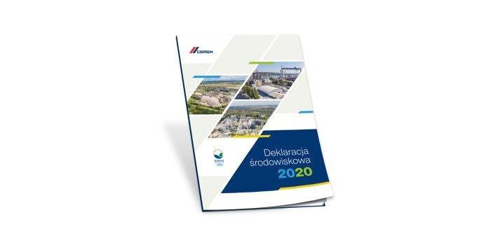 CEMEX Polska opublikował Deklarację Środowiskową za rok 2020