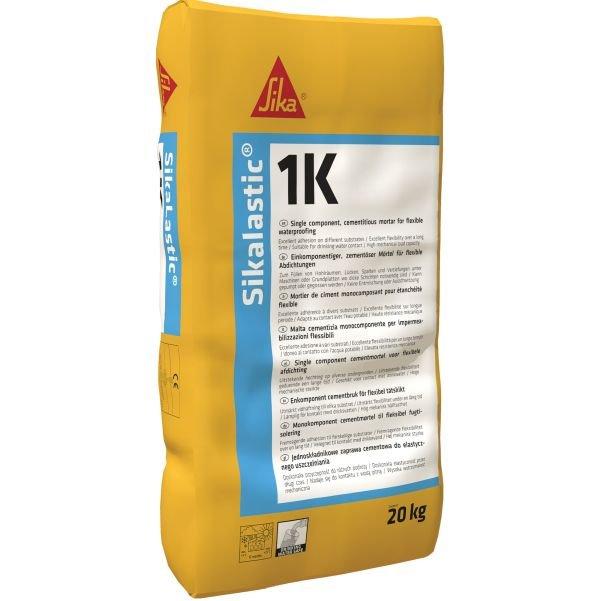 Sikalastic-1K – Jednoskładnikowa zaprawa cementowa