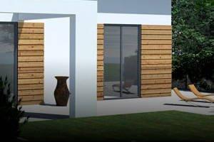 7 pomysłów na nowoczesną elewację domu parterowego »