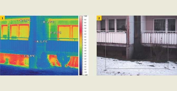 Stan ochrony cieplnej ścian zewnętrznych w obrębie dylatacji budynków jest wypadkową rozwiązań projektowych oraz wykonawstwa robót budowlanych. Archiwum autorów P. Krause, T. Steidla