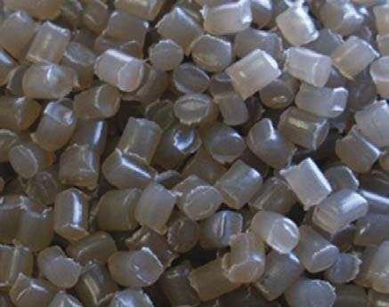 Fot. 1. Polipropylen I – gęstość objętościowa: 630 kg/m3, frakcja ziarna: 4–5 mm, kształt ziarna: walcowe, regularne Archiwum autorów