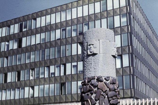 Fot. 1. Budynek z lekką obudową z początku okresu realizacji tego typu rozwiązań