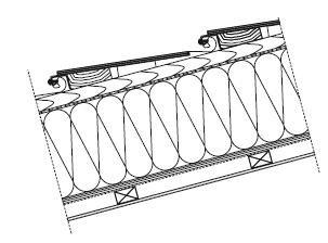 Rys. 9. Schemat przykładowego panelu fotowoltaicznego dachowego