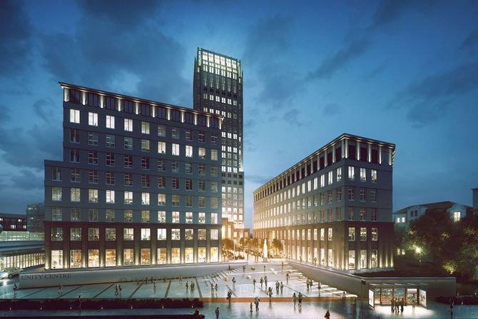 Unity Tower w Krakowie z zastosowaniem produktów Schöck Schöck