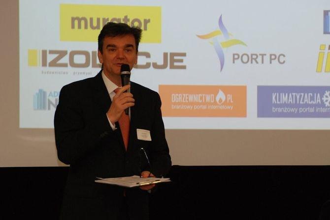 XIX Forum Termomodernizacja otworzył prezes ZAE Dariusz Heim Maciej Mijakowski (ZAE)