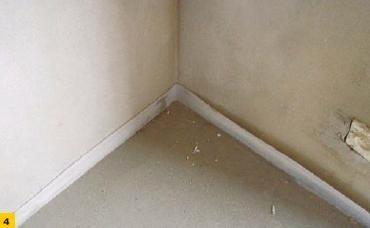 Fot. 4. Dylatacja brzegowa z taśmy piankowej