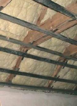 Fot. 5. Widok dachu (poddasza) o skomplikowanej budowie – dobra izolacyjność cieplna