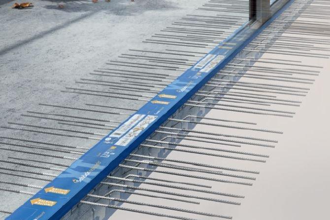 Łączniki balkonowe – skuteczne rozwiązanie eliminujące mostki termiczne przy połączeniu stropu z płytą balkonową Fot. Schöck