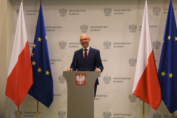 Minister klimatu Michał Kurtyka Ministerstwo Klimatu