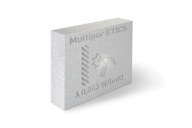 Fot. 1. Mineralne płyty izolacyjne Multipor ETICS do ocieplania ścian domu od strony zewnętrznej Xella Polska