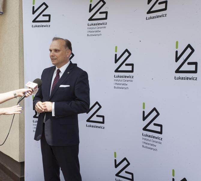 Paweł Pichniarczyk, dyrektor Sieć Badawcza Łukasiewicz – Instytutu Ceramiki i Materiałów Budowlanych