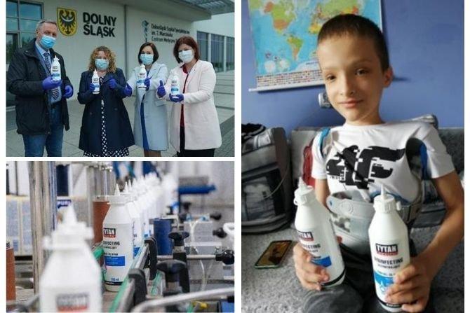 Tytan HEALTH to nowa linia produktów Grupy Selena – pierwsza tego typu seria do dezynfekcji minimalizująca ryzyko zakażenia wirusami fot. Grupa Selena