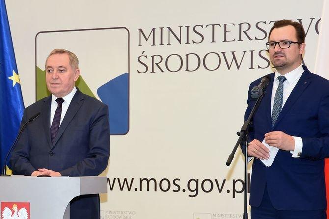 Minister środowiska Henryk Kowalczyk MŚ