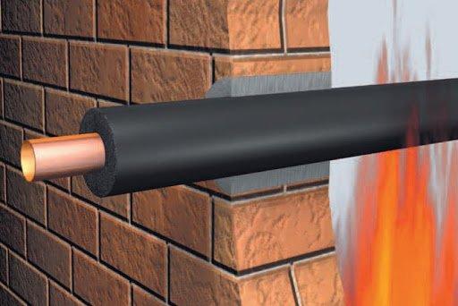 Oddzielenia pożarowe w budynkach, zapewniające odpowiednią klasę odporności ogniowej, są kluczowe przy zapobieganiu rozprzestrzenianiu się pożaru – ognia, dymu i gazów pożarowych. Rys. Armacell