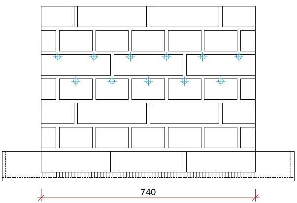 RYS. 8. Schemat muru badawczego dla iniekcji ciśnieniowej w metodzie WTA; rys.: [3]